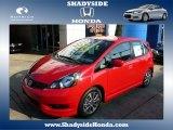 2013 Milano Red Honda Fit Sport #88442747