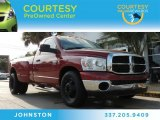 2009 Inferno Red Crystal Pearl Dodge Ram 3500 SLT Regular Cab Dually #88442741
