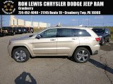 2014 Cashmere Pearl Jeep Grand Cherokee Overland 4x4 #88442813