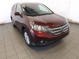 2014 Basque Red Pearl II Honda CR-V EX-L #88442648
