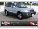 2003 Pewter Hyundai Santa Fe LX 4WD #88442943