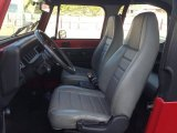 1992 Jeep Wrangler S 4x4 Gray Interior