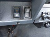 1992 Jeep Wrangler S 4x4 Controls