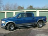 2011 Deep Water Blue Pearl Dodge Ram 1500 SLT Outdoorsman Crew Cab 4x4 #88442730