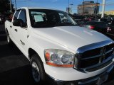 2006 Bright White Dodge Ram 1500 SLT Quad Cab #88442714