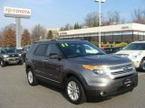 2011 Sterling Grey Metallic Ford Explorer XLT 4WD #88443015