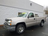 2004 Silver Birch Metallic Chevrolet Silverado 1500 Regular Cab 4x4 #88443144