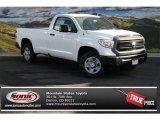 2014 Super White Toyota Tundra SR Regular Cab 4x4 #88442631