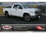 2014 Super White Toyota Tundra SR5 TRD Double Cab 4x4 #88442630