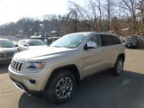 2014 Cashmere Pearl Jeep Grand Cherokee Limited 4x4 #88443140