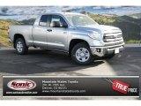 2014 Silver Sky Metallic Toyota Tundra SR5 Double Cab 4x4 #88442628