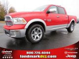 2014 Flame Red Ram 1500 Laramie Crew Cab #88442905