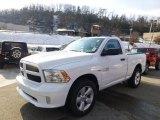 2014 Bright White Ram 1500 Express Regular Cab 4x4 #88443133