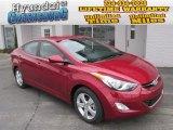 2013 Red Hyundai Elantra GLS #88442616