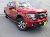 2014 Ruby Red Ford F150 FX4 SuperCrew 4x4 #88443000