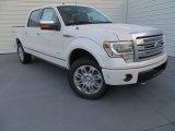 2014 White Platinum Ford F150 Platinum SuperCrew 4x4 #88442997