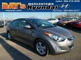 2013 Titanium Gray Metallic Hyundai Elantra GLS #88443309