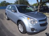 2014 Silver Topaz Metallic Chevrolet Equinox LS #88494069