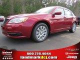 2014 Deep Cherry Red Crystal Pearl Chrysler 200 LX Sedan #88493748