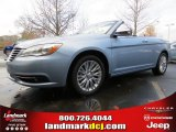 2014 Crystal Blue Pearl Chrysler 200 Limited Convertible #88493747