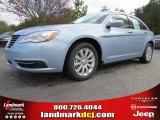 2014 Crystal Blue Pearl Chrysler 200 Touring Sedan #88493745