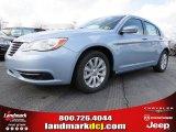 2014 Crystal Blue Pearl Chrysler 200 Touring Sedan #88493742