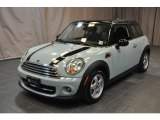 2011 Ice Blue Mini Cooper Hardtop #88493588