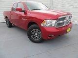 2009 Inferno Red Crystal Pearl Dodge Ram 1500 SLT Quad Cab #88493832