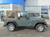2000 Jeep Wrangler Medium Fern Green Pearl