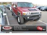 2003 Red Metallic Hummer H2 SUV #88493486