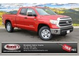 2014 Barcelona Red Metallic Toyota Tundra SR5 Double Cab 4x4 #88493483