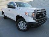 2014 Super White Toyota Tundra SR Double Cab #88493822