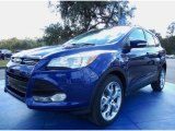 2014 Deep Impact Blue Ford Escape Titanium 2.0L EcoBoost #88493645
