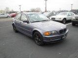 2001 Steel Blue Metallic BMW 3 Series 325i Sedan #88493964