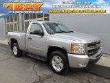 2011 Sheer Silver Metallic Chevrolet Silverado 1500 LT Regular Cab 4x4 #88493567