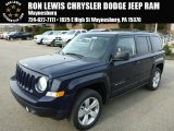 2014 True Blue Pearl Jeep Patriot Latitude 4x4 #88493810
