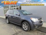2014 Atlantis Blue Metallic Chevrolet Equinox LT AWD #88493554