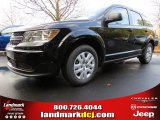 2014 Pitch Black Dodge Journey Amercian Value Package #88493761