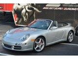2007 Arctic Silver Metallic Porsche 911 Carrera Cabriolet #88493928