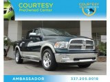 2011 Hunter Green Pearl Dodge Ram 1500 Laramie Crew Cab #88493921