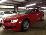 2014 Red Hot Chevrolet Camaro LS Coupe #88531830