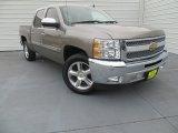 2012 Graystone Metallic Chevrolet Silverado 1500 LT Crew Cab #88531999