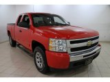 2010 Victory Red Chevrolet Silverado 1500 LT Extended Cab 4x4 #88532189