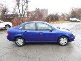 2005 Sonic Blue Metallic Ford Focus ZX4 S Sedan #88531793