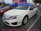 2011 White Suede Ford Fusion S #88531678