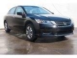 2014 Crystal Black Pearl Honda Accord LX Sedan #88531880