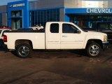 2012 Summit White Chevrolet Silverado 1500 LT Extended Cab #88531656
