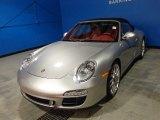 2012 Platinum Silver Metallic Porsche 911 Carrera GTS Cabriolet #88531618