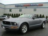 2007 Tungsten Grey Metallic Ford Mustang V6 Premium Convertible #88532251