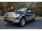 2013 Kodiak Brown Metallic Ford F150 Lariat SuperCrew 4x4 #88532165
